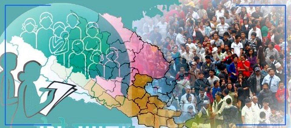 राष्ट्रिय जनगणना कात्तिक २५ देखि मङ्सिर ९ सम्म हुने