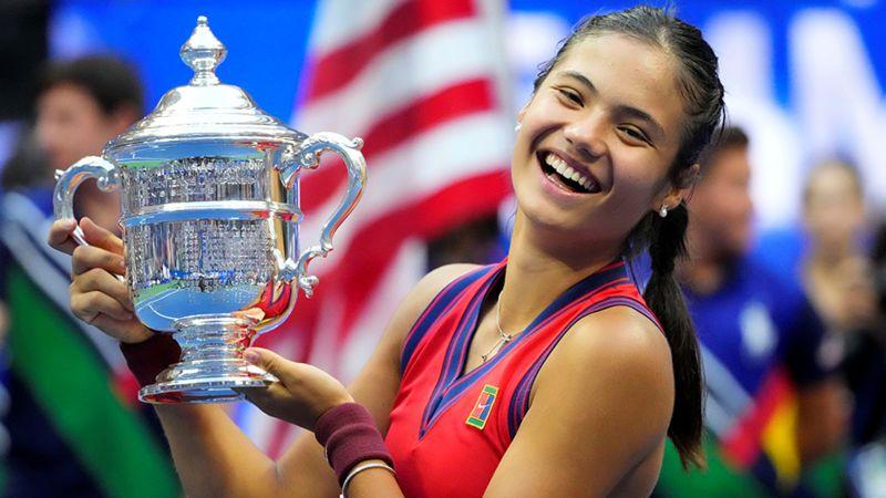 यूएस ओपन टेनिस: १८ वर्षीया एम्मा राडुकानुको अविश्वसनीय विजय यात्रा