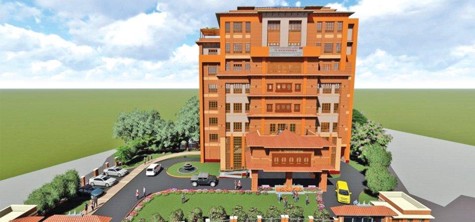काठमाडौँ महानगरको आठतले भवन बन्ने