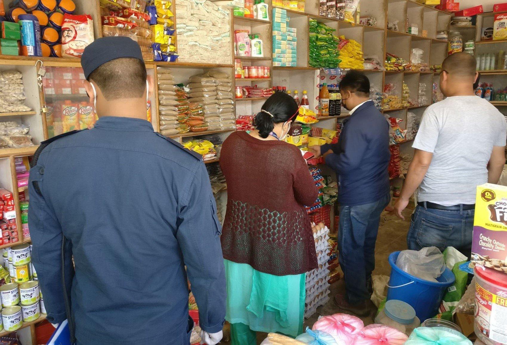 सरकारद्वारा चाडपर्व केन्द्रित बजार अनुगमन, कैफियत भेटिए कारवाही