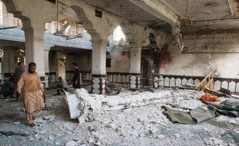 अफगानिस्तान विष्फोट : मारिनेको संख्या ३५ पुग्यो, ६८ घाइते