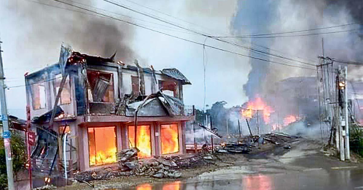 म्यानमारमा सैन्य क्रूरता झन् अचाक्ली