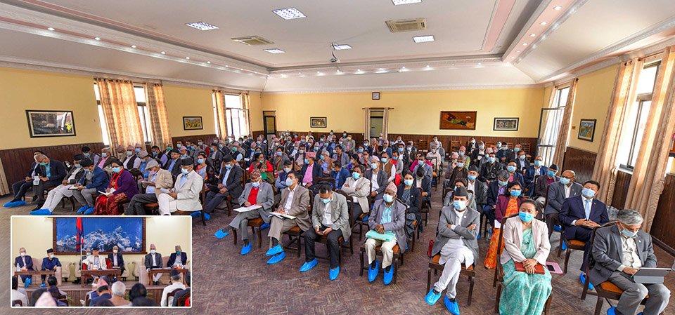 एमालेको दशौं राष्ट्रिय महाधिवेशन आयोजक कमिटी बैठक १० गते बस्नेगरी स्थगित