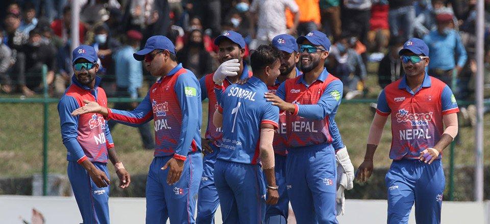त्रिकोणात्मक ट्वान्टी–२० शृंखलामा नेपालको लगातार दोस्रो जित