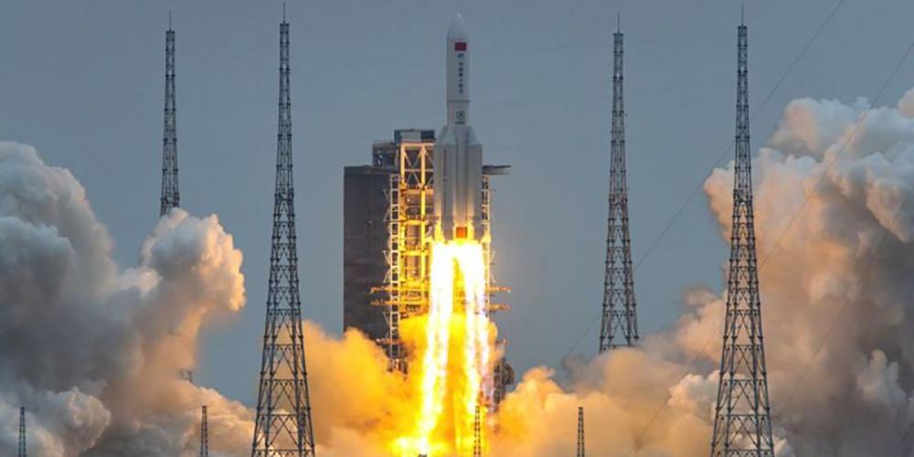 चीनले अन्तरिक्षमा पठाएको रकेट असन्तुलित भइ पृथ्वीमै खस्यो