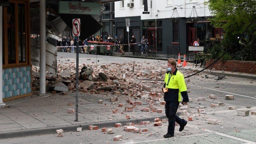 अस्ट्रेलियामा ५.८ रेक्टर स्केलको भूकम्प